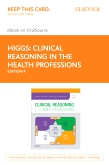 cover image - Clinical Reasoning in the Health Professions - Elsevier eBook on VitalSource (Retail Access Card),4th Edition