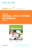 cover image - Myles Textbook for Midwives - Elsevier eBook on VitalSource (Retail Access Card),16th Edition