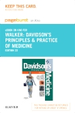 Davidson's Principles and Practice of Medicine Elsevier eBook on Intel Education Study (Retail Access Card), 22nd Edition