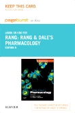 Rang & Dale's Pharmacology Elsevier eBook on Intel Education Study (Retail Access Card), 8th Edition