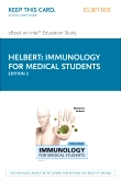 Immunology for Medical Students Elsevier eBook on Intel Education Study (Retail Access Card), 3rd Edition