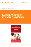 cover image - Midwifery Essentials: Antenatal - Elsevier eBook on VitalSource (Retail Access Card),2nd Edition