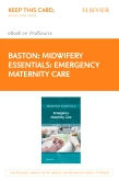 cover image - Midwifery Essentials: Emergency Maternity Care - Elsevier eBook on VitalSource (Retail Access Card)