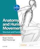 cover image - Anatomy and Human Movement - Elsevier eBook on VitalSource,7th Edition