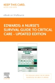 cover image - A Nurse's Survival Guide to Critical Care - Updated Edition Elsevier eBook on Vitalsource (Retail Access Card)