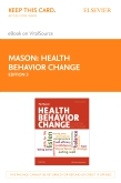 cover image - Health Behavior Change - Elsevier eBook on VitalSource (Retail Access Card),3rd Edition