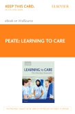 cover image - Learning to Care Elsevier eBook on VitalSource (Retail Access Card)