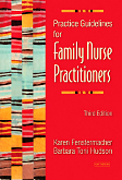 cover image - Practice Guidelines for Family Nurse Practitioners,3rd Edition