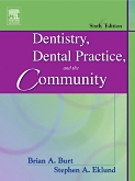 cover image - Dentistry, Dental Practice, and the Community,6th Edition