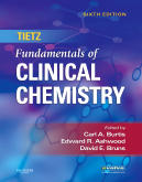 Tietz Fundamentals of Clinical Chemistry, 6th Edition