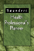 cover image - Saunders Health Professional's Planner
