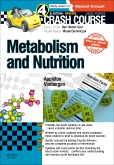 cover image - Crash Course: Metabolism and Nutrition: Updated Print + eBook edition,4th Edition