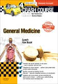 cover image - Crash Course General Medicine Updated Print + eBook edition,4th Edition
