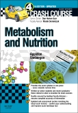 cover image - Crash Course: Metabolism and Nutrition Updated Edition: Elsevier eBook on VitalSource,4th Edition