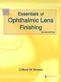 cover image - Essentials of Ophthalmic Lens Finishing,2nd Edition