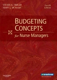 cover image - Budgeting Concepts for Nurse Managers,4th Edition