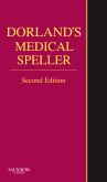 Dorland's Medical Speller, 2nd Edition