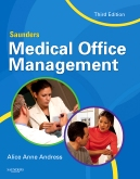 cover image - Saunders Medical Office Management,3rd Edition