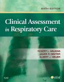 cover image - Clinical Assessment in Respiratory Care,6th Edition