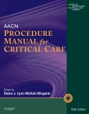 cover image - AACN Procedure Manual for Critical Care,6th Edition