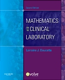 cover image - Evolve Resources for Mathematics for the Clinical Laboratory,2nd Edition