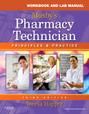 cover image - Workbook and Lab Manual for Mosby's Pharmacy Technician,3rd Edition