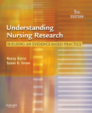 cover image - Understanding Nursing Research,5th Edition