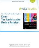 Administrative Medical Assisting Online for Kinn's The Administrative Medical Assistant (User Guide and Access Code), 7th Edition