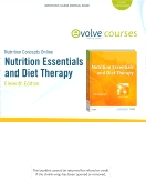 Nutrition Concepts Online for Nutrition Essentials and Diet Therapy (User Guide, Access Code and Textbook Package), 11th Edition
