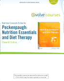 Nutrition Concepts Online for Peckenpaugh: Nutrition Essentials and Diet Therapy (User Guide and Access Code), 11th Edition