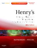 Henry's Clinical Diagnosis and Management by Laboratory Methods, 22nd Edition
