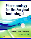 cover image - Evolve Resources for Pharmacology for the Surgical Technologist,3rd Edition