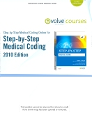 cover image - Medical Coding Online 2010 for Step-by-Step Medical Coding 2010 Edition