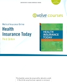 Medical Insurance Online for Health Insurance Today, 3rd Edition