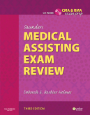 cover image - Saunders Medical Assisting Exam Review,3rd Edition