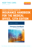 Medical Insurance Online for Insurance Handbook for the Medical Office (User Guide and Access Code), 12th Edition