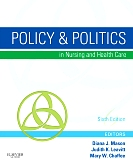 cover image - Evolve Resources for Policy & Politics in Nursing and Health Care,6th Edition