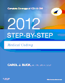 cover image - Step-by-Step Medical Coding 2012 Edition