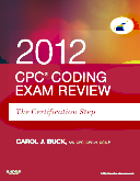 cover image - CPC Coding Exam Review 2012