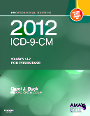2012 ICD-9-CM, for Physicians Volumes 1 and 2 Professional Edition (Softbound)