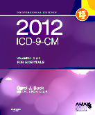2012 ICD-9-CM for Hospitals, Volumes 1, 2 and 3 Professional Edition (Spiral bound)