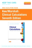 cover image - Drug Calculations Online for Clinical Calculations,7th Edition