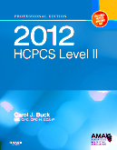 2012 HCPCS Level II Professional Edition
