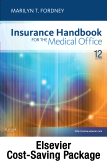 cover image - Insurance Handbook for the Medical Office - Text, Workbook, 2012 ICD-9-CM for Hospitals, Volumes 1, 2 & 3 Standard Edition, 2012 HCPCS Level II and 2012 CPT Standard Edition Package,12th Edition