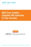 HESI Case Studies: Complete RN Collection (2 Year Version)