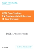cover image - HESI Case Studies: RN Fundamentals Collection (1 Year Version)