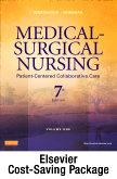 cover image - Medical-Surgical Nursing - 2-Volume Set - Text and Virtual Clinical Excursions 3.0 Package,7th Edition