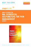 Biomedical Acupuncture for Pain Management - Pageburst E-Book on VitalSource (Retail Access Card)