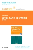 Say It in Spanish - Elsevier eBook on VitalSource (Retail Access Card), 3rd Edition