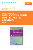 cover image - Dentistry, Dental Practice, and the Community - Elsevier eBook on VitalSource (Retail Access Card),6th Edition